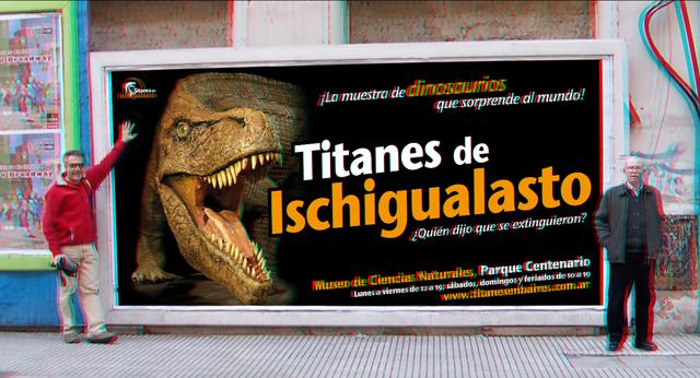 Dinosaurios renacen en 3D