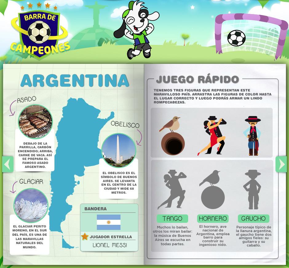 Libro de Figuritas para el Mundial